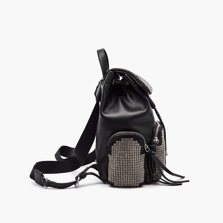 LA CARRIE   Backpacks   111MZM702BLACK/SILVER