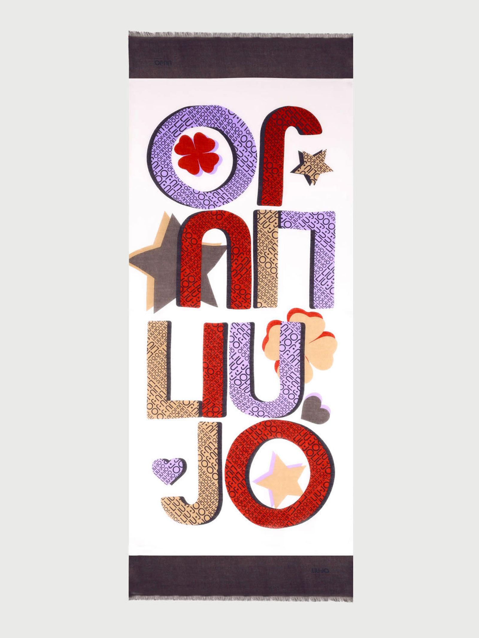 Foulard logo star liu jo LIU JO | Foulard | 2A1060T030001065