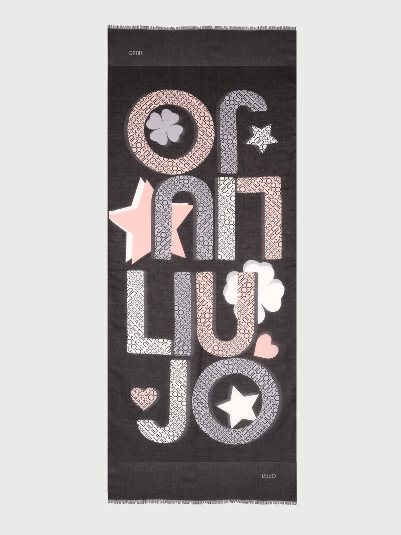 Foulard logo star liu jo LIU JO | Foulards | 2A1060T030022222