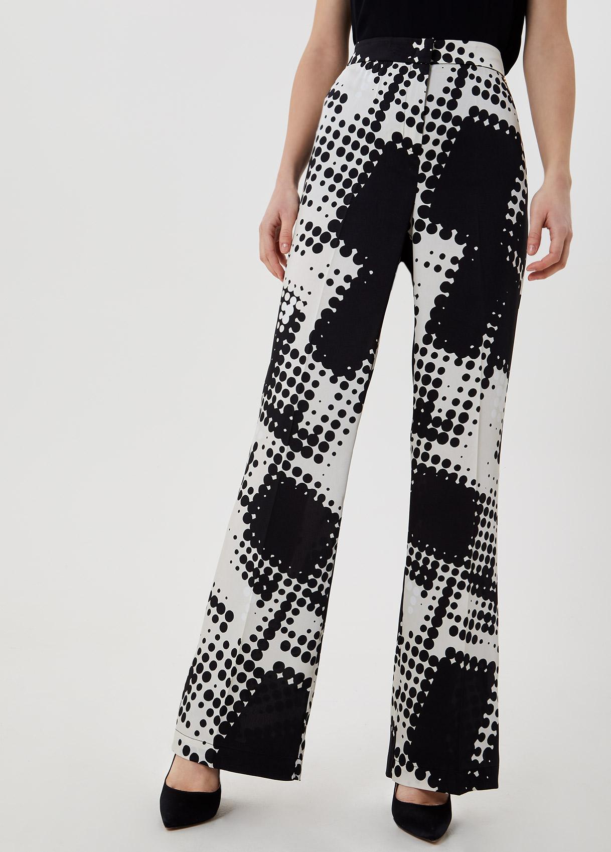 pantalone mix pois LIU JO   Pantaloni   CA1194T2455T9629