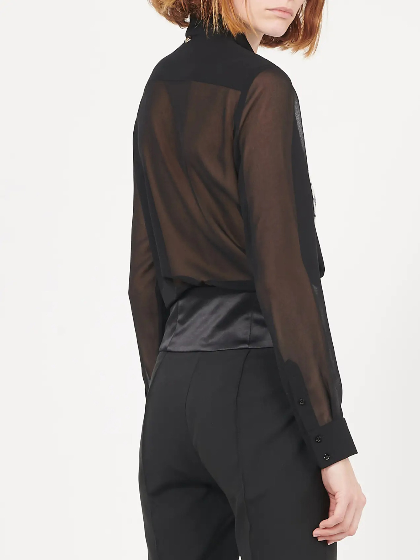 camicia plastron liu jo LIU JO | Camicie | IA1007T475922222
