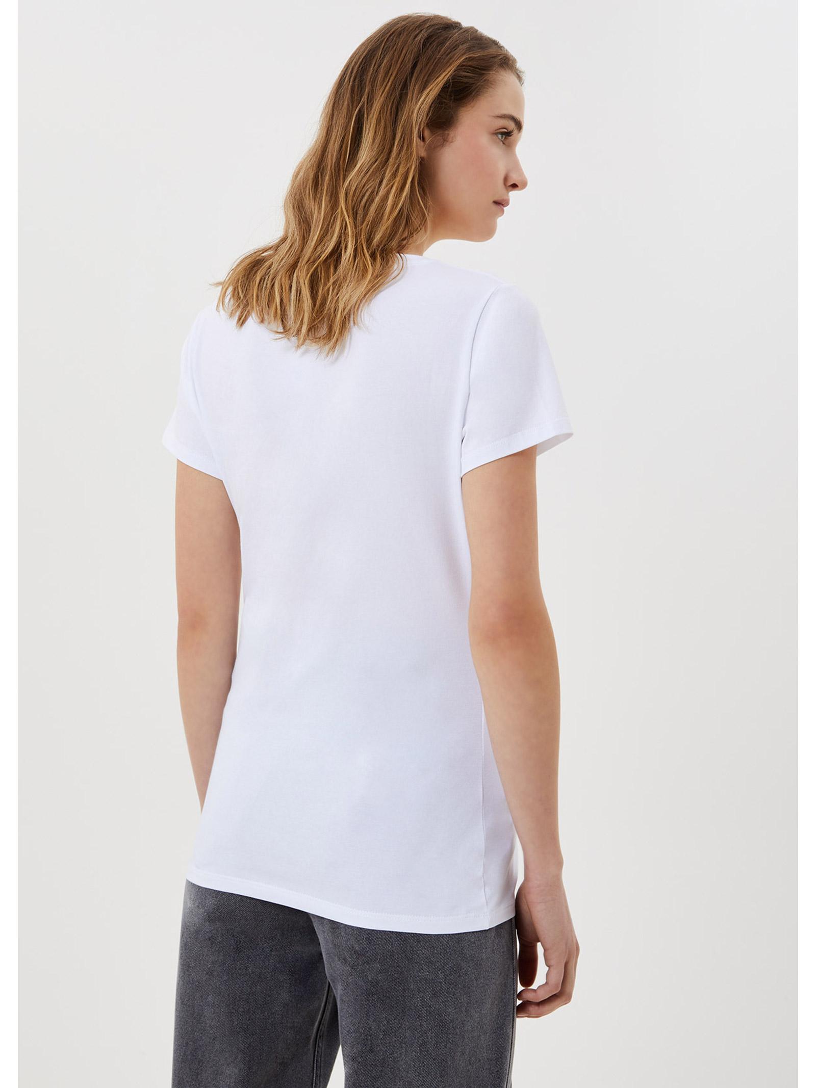 t-shirt lipstick LIU JO | T-shirt | WA1270J5003T9930