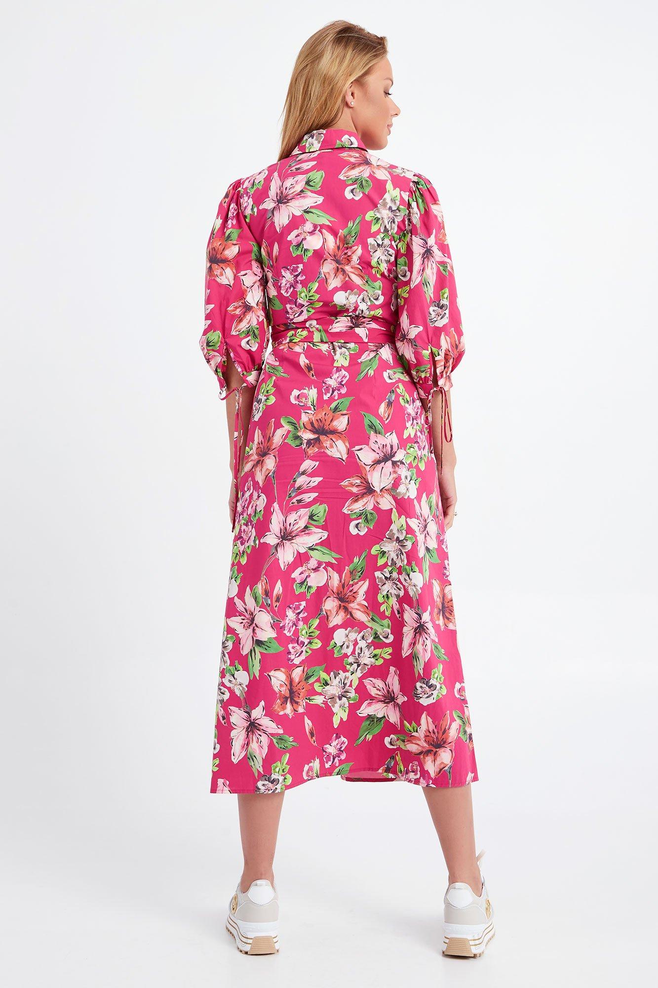 abito flowers pink liu jo LIU JO | Abiti | WA1292T4824T9651