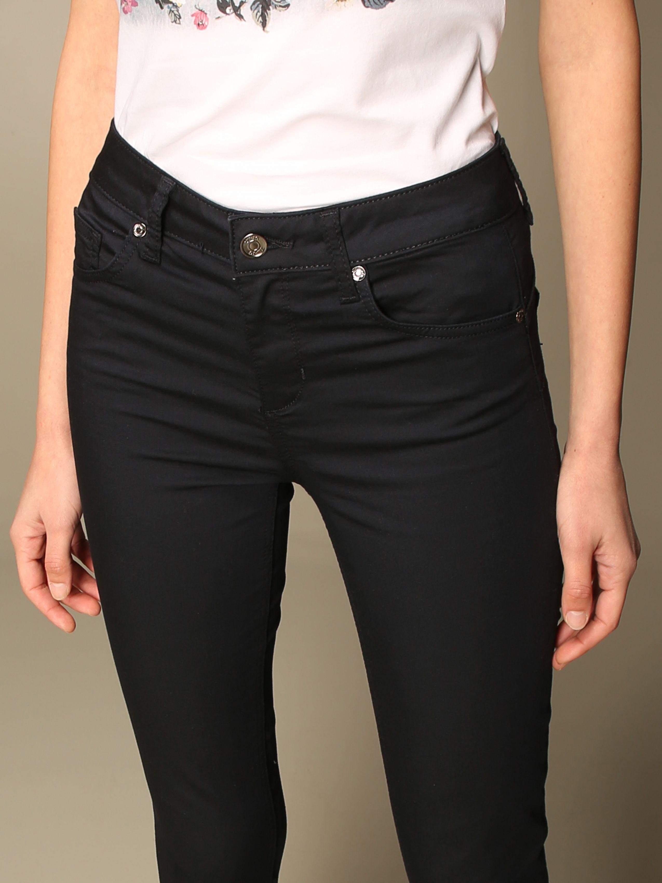 pantalone skinny vita alta liu jo LIU JO   Pantaloni   WXX035T714493921