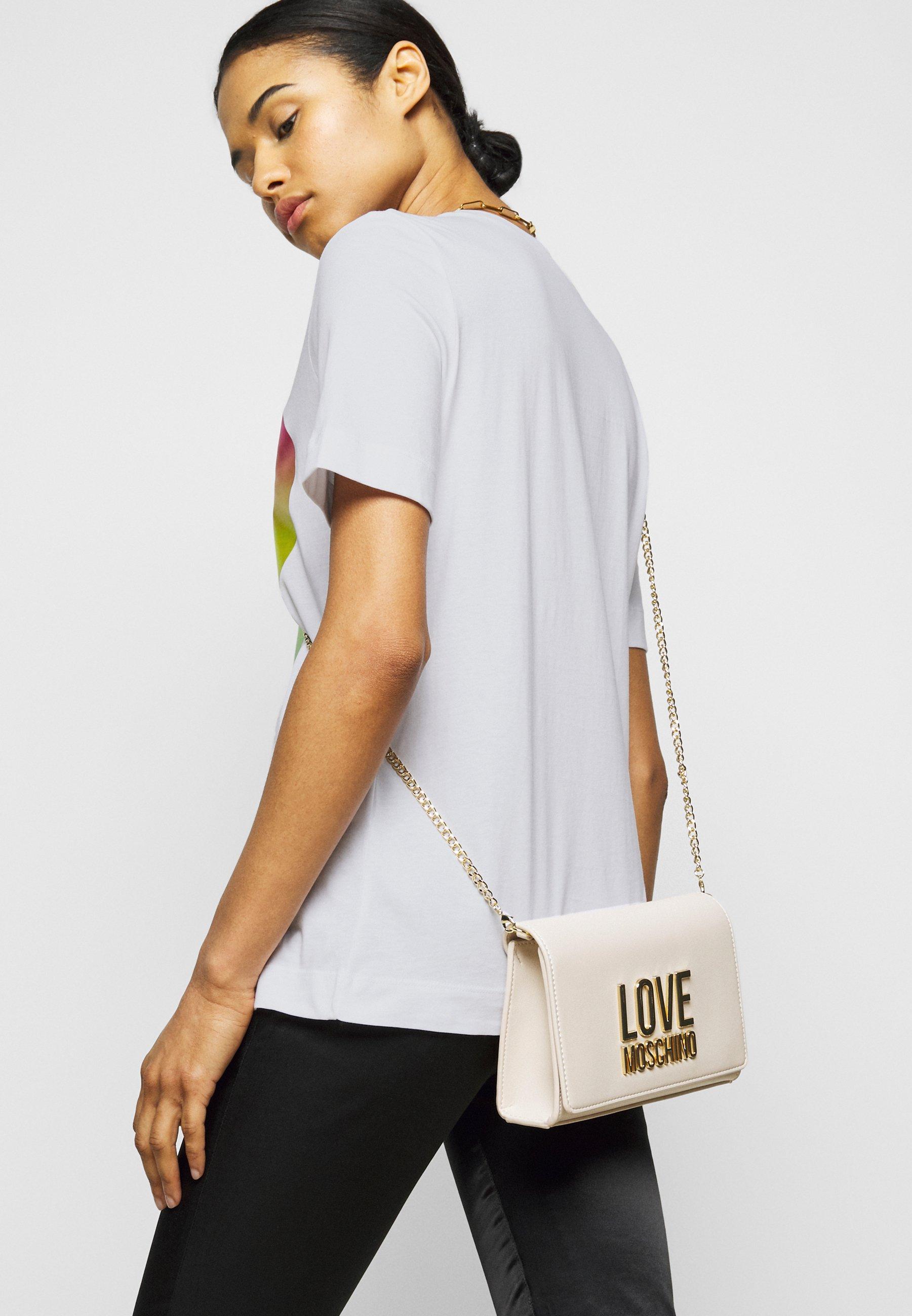t-shirt rainbow heart LOVE MOSCHINO | T-shirt | W4F15 2T M3876A00