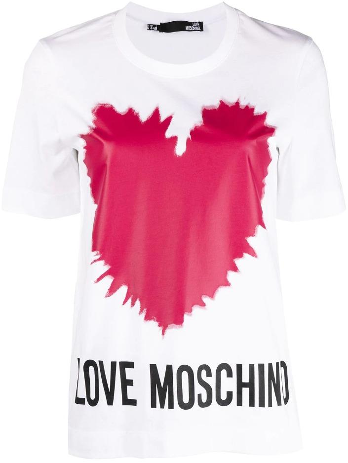 t-shirt explosion heart love moschino LOVE MOSCHINO | T-shirt | W4F15 3A M3876A00
