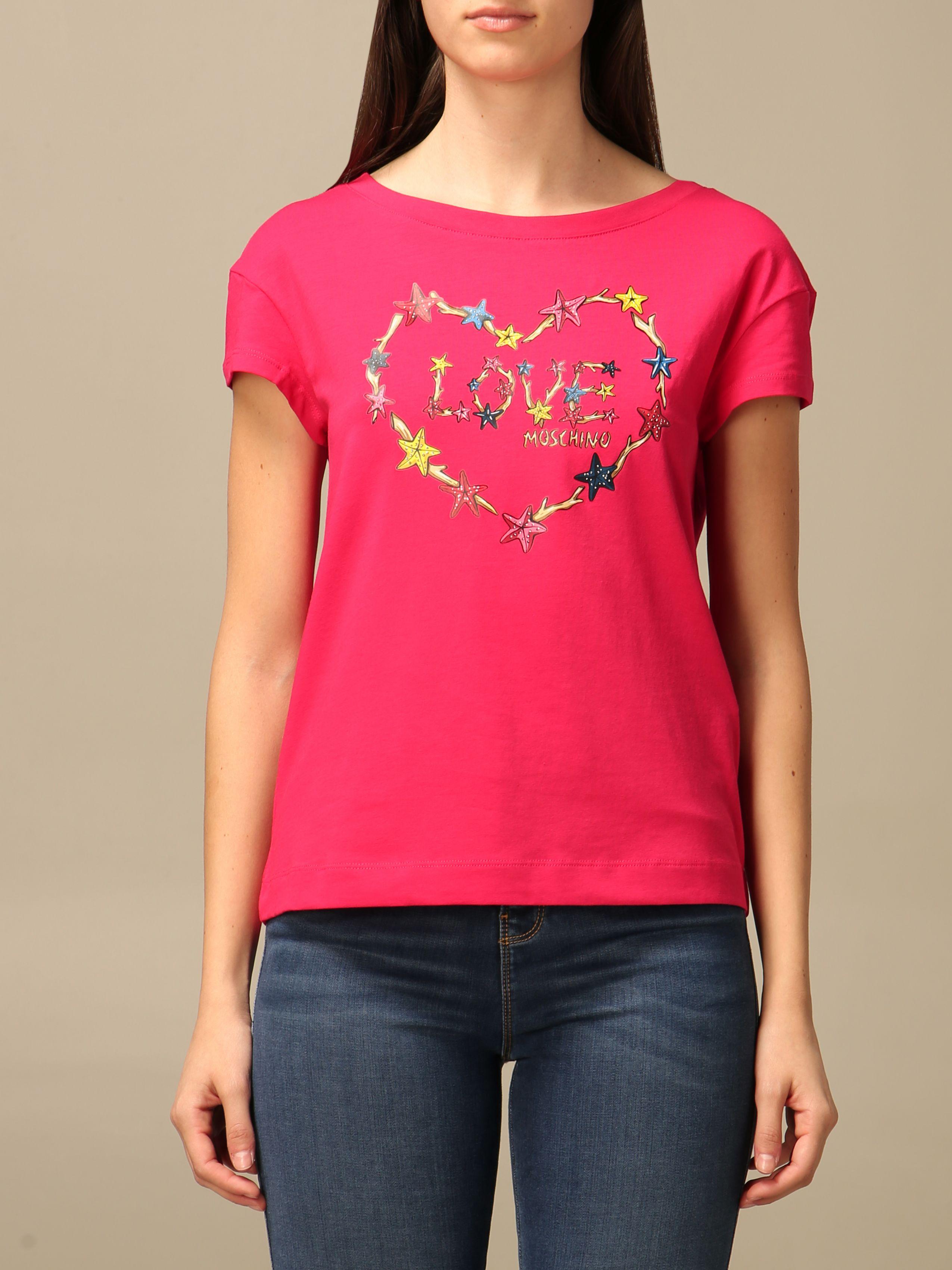 LOVE MOSCHINO | T-Shirts | W4F30 2L E1951O49
