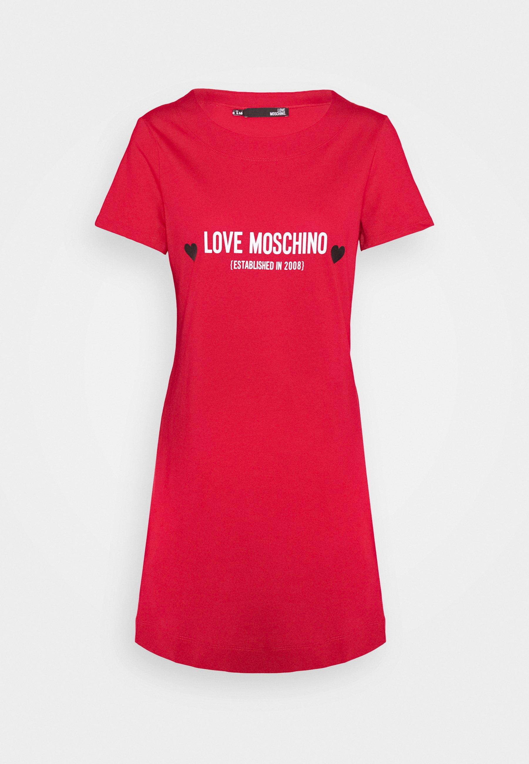 abito logo heart love moschino LOVE MOSCHINO | Abiti | W5929 13 M3876P05