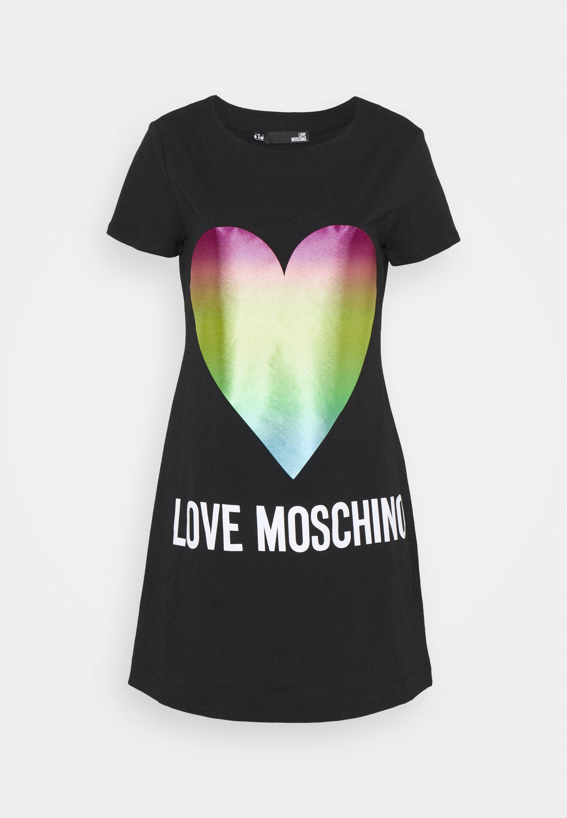 abito rainbow heart love moschino LOVE MOSCHINO | Abiti | W5929 14 M3876C74