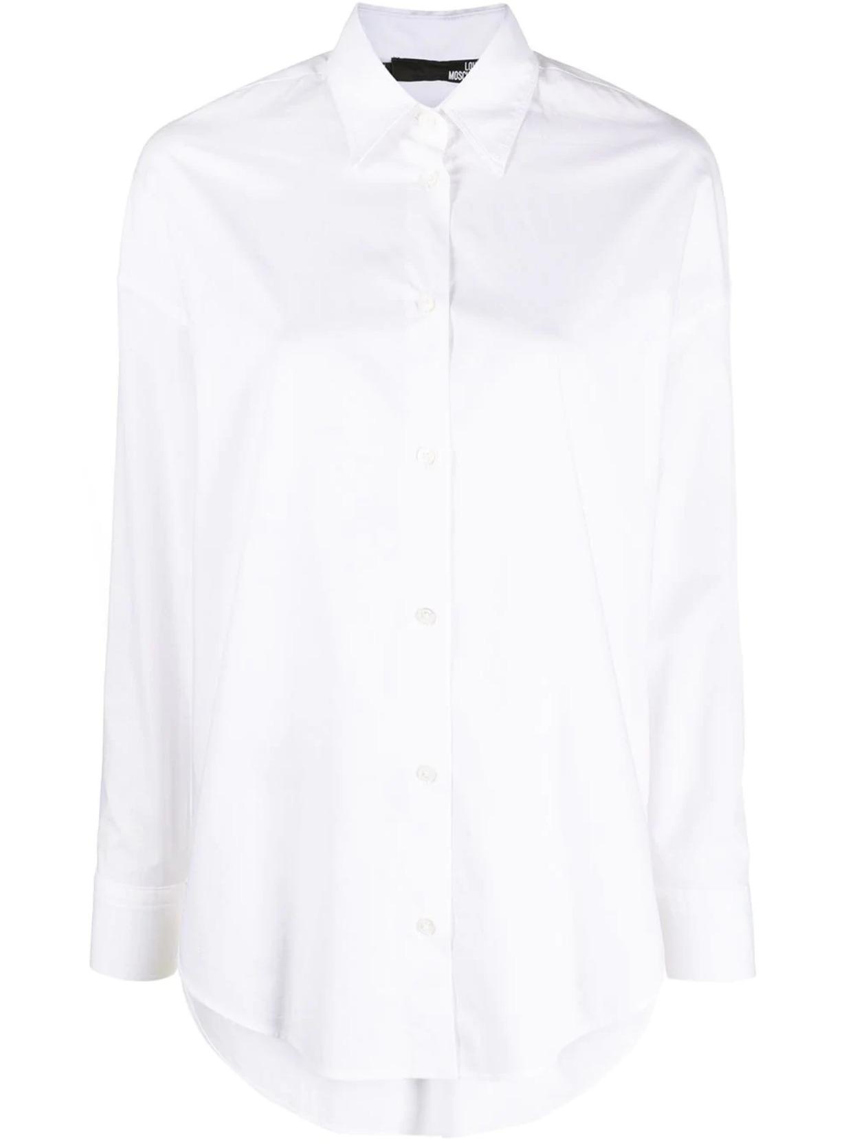 Camicia basic heart love moschino LOVE MOSCHINO | Camicie | WCD40 03 S3296A00