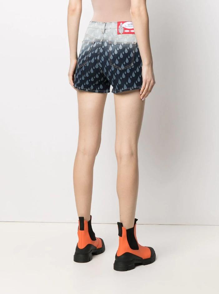 shorts splash denim love moschino LOVE MOSCHINO | Shorts | WO104 73 S3496912W