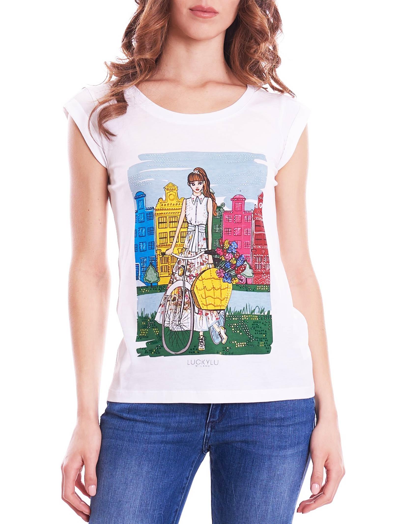 LUCKYLU   T-Shirts   TS09JJ0001