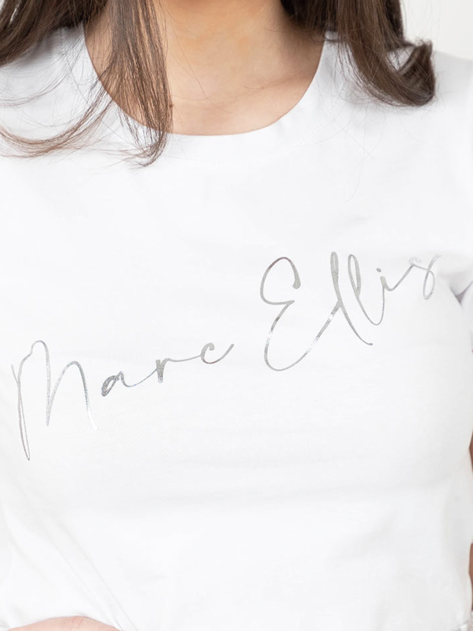 t-shirt logo MARC ELLIS | T-shirt | WMETS8717001