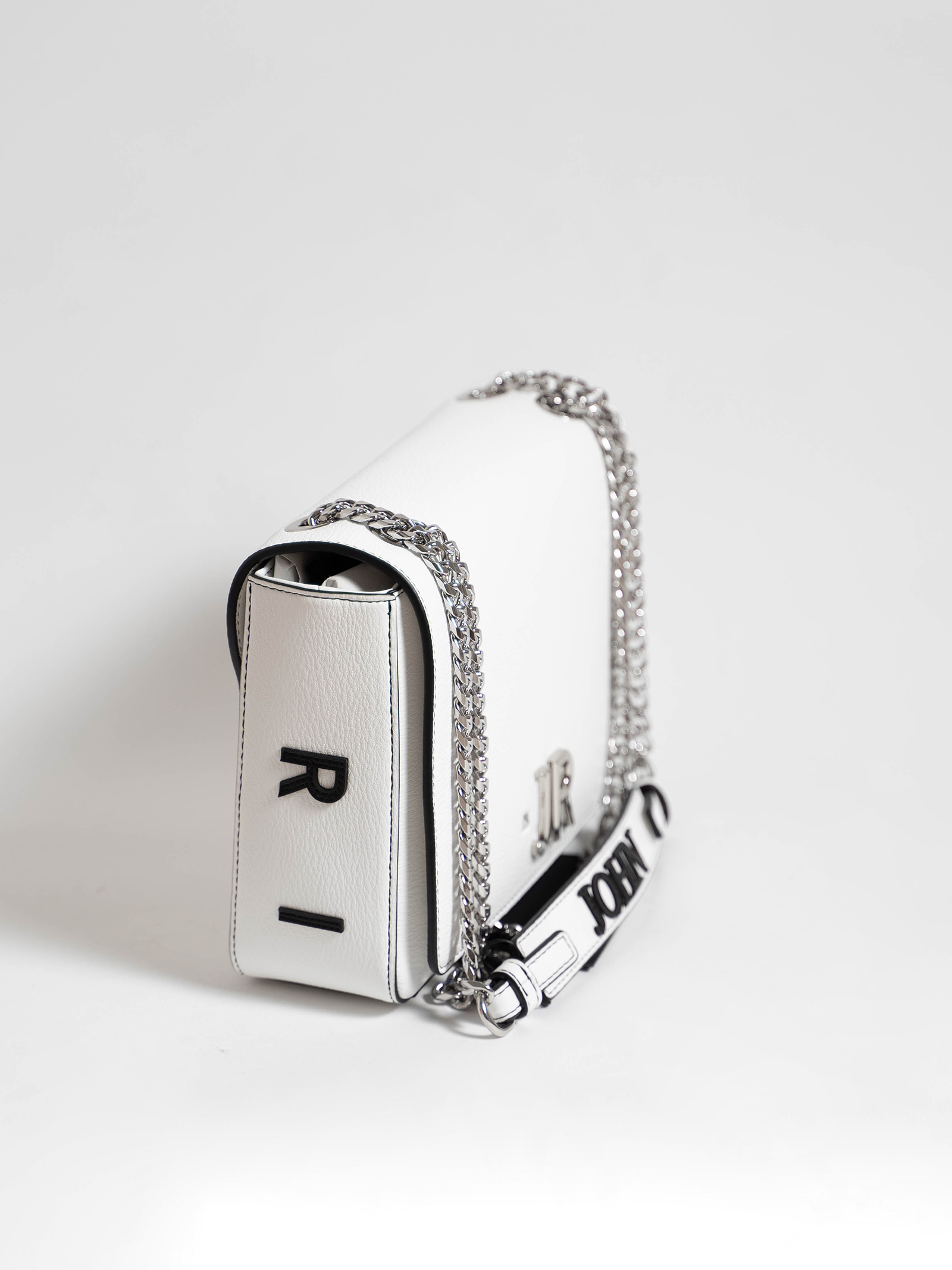 shoulder bag canada john richmond RICHMOND ACCESSORIES | Borsa | RWP21258BOWHITE