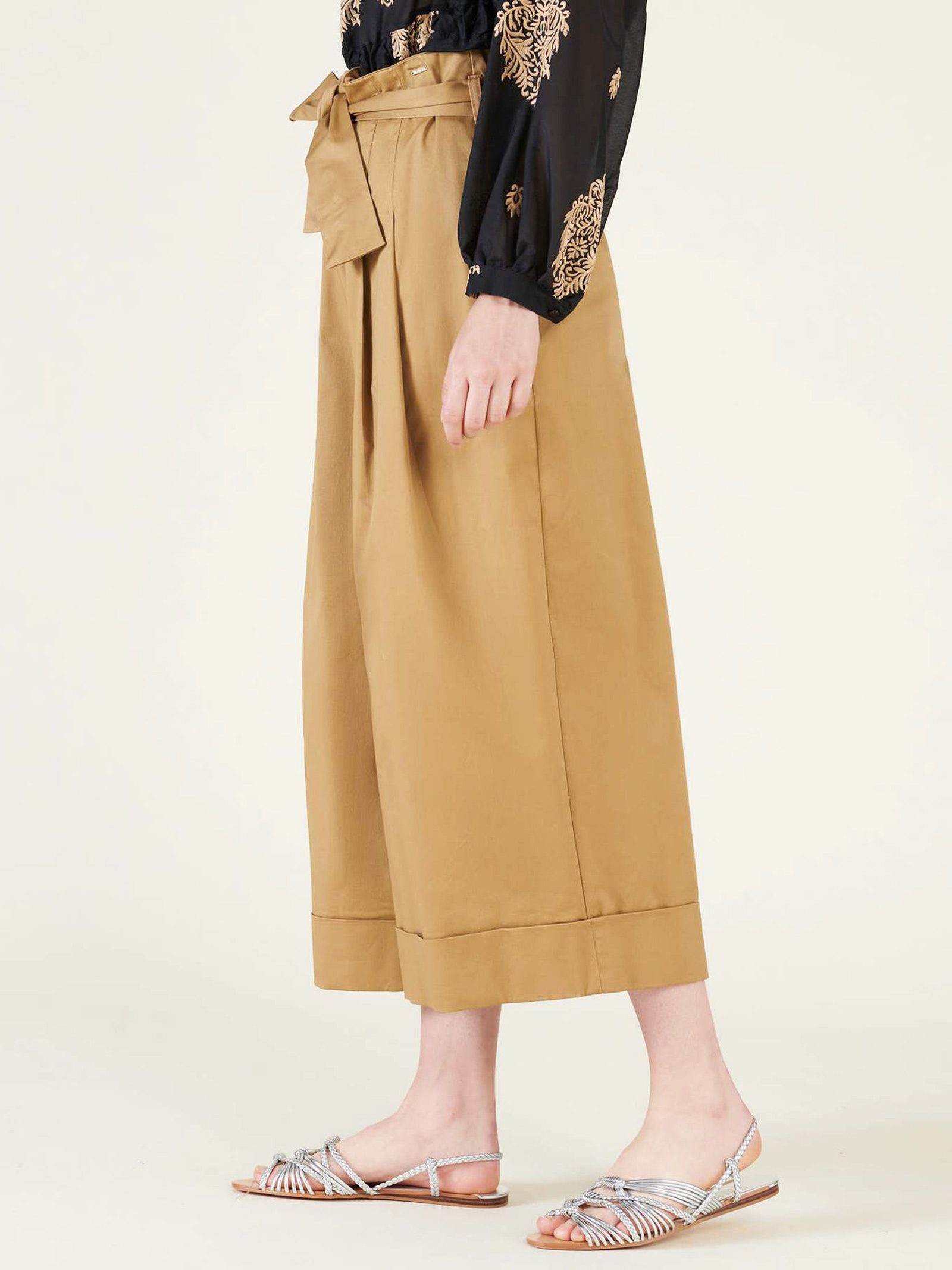 SILVIAN HEACH | Trousers | PGP21505PAALMOND