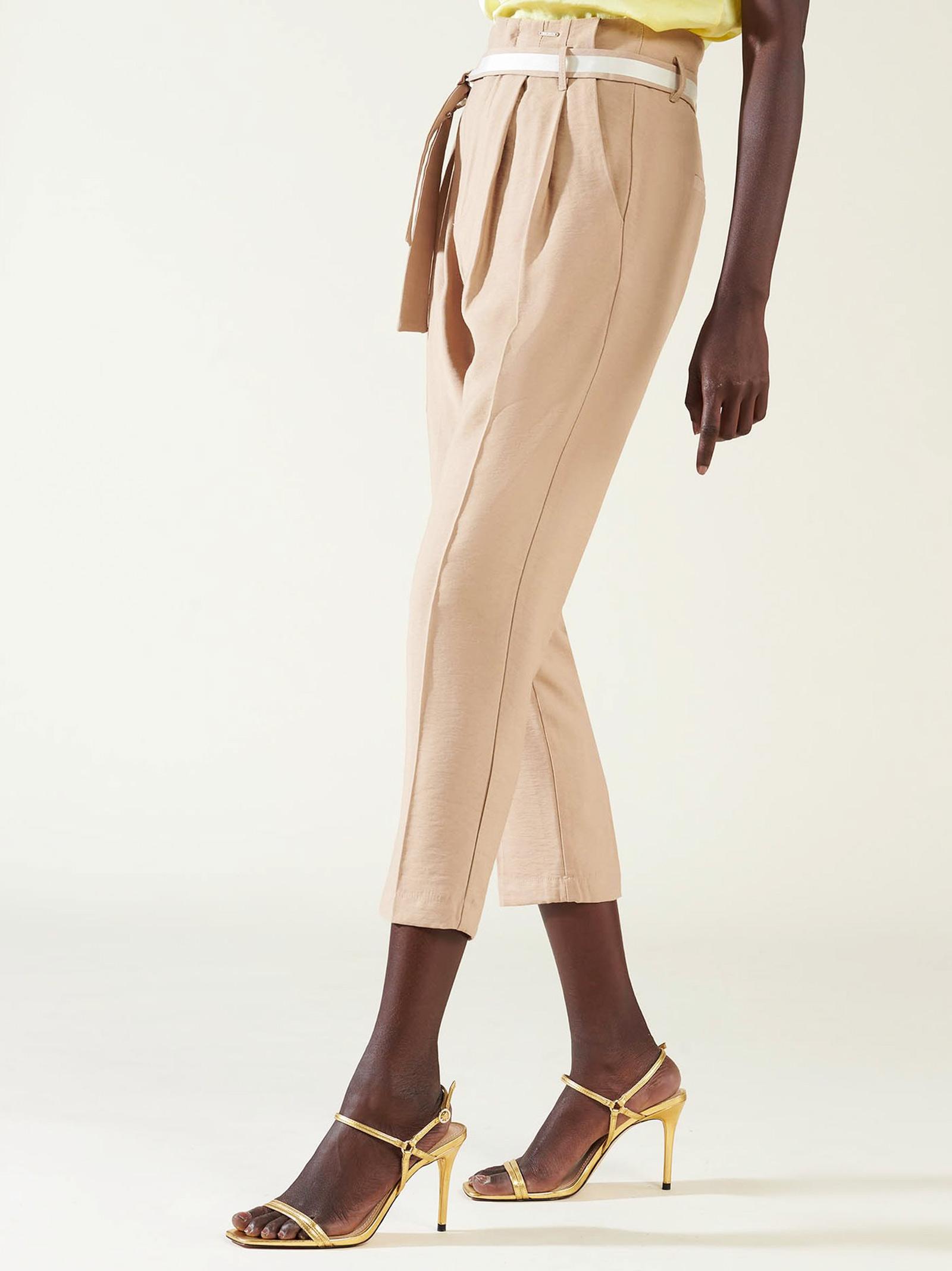 pantalone cerito silvian heach SILVIAN HEACH | Pantaloni | PGP21589PASMSAND