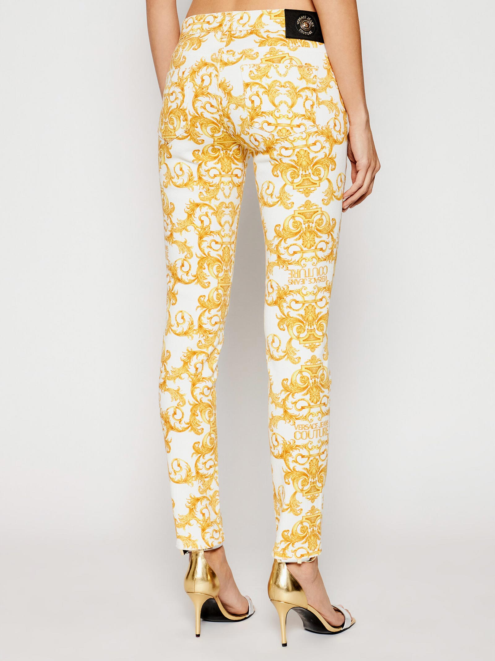 jeans skinny bull  baroque VERSACE JEANS | Jeans | A1HWA0K0003