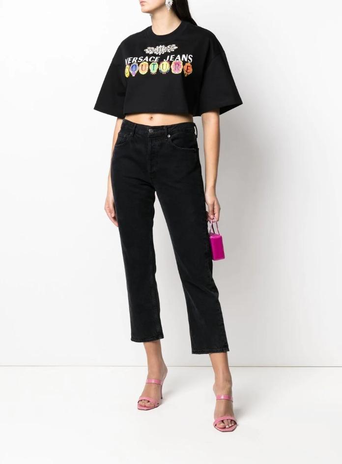 VERSACE JEANS | T-Shirts | B2HWA7PB899