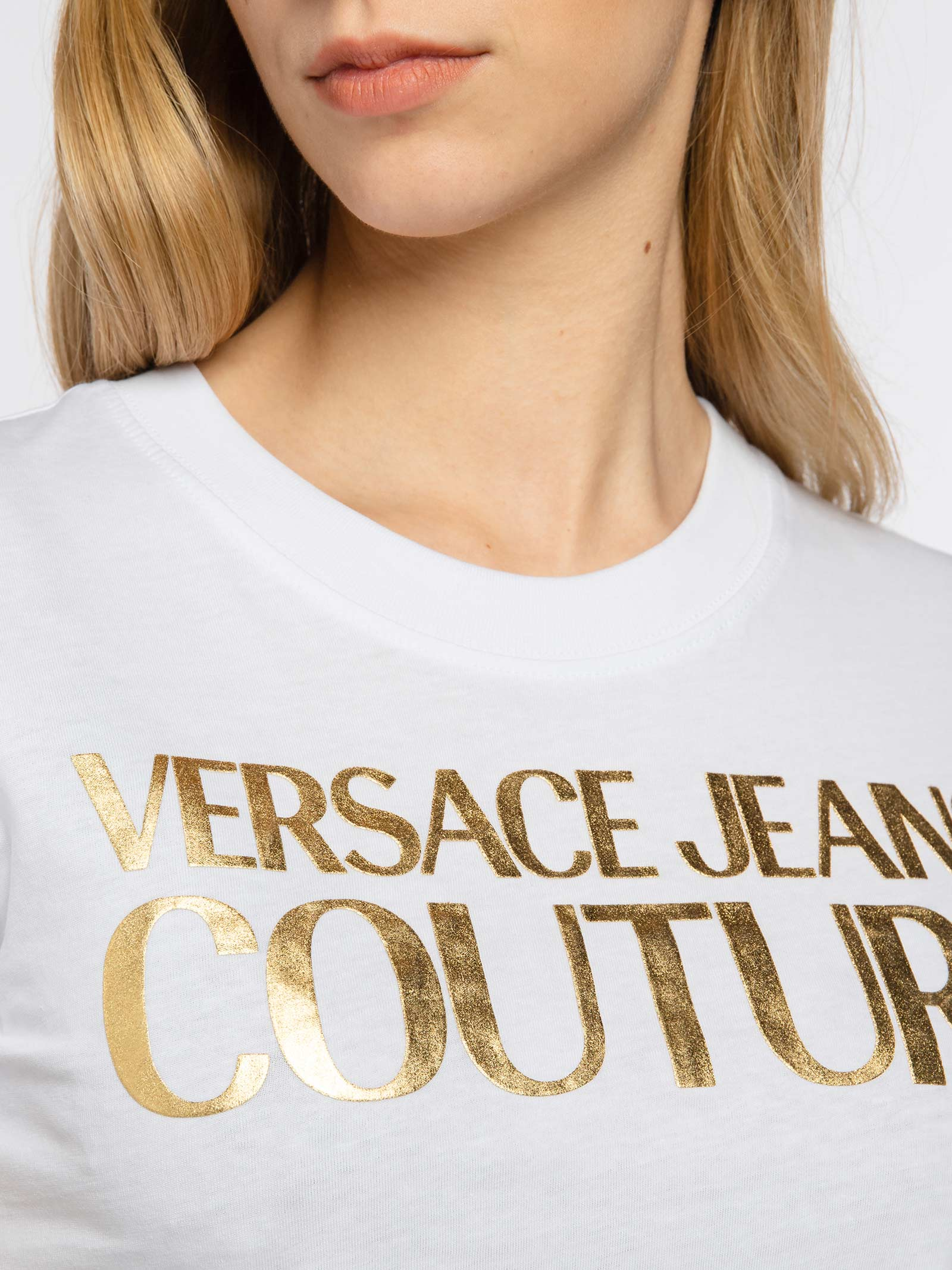 t-shirt logo versace jeans couture VERSACE JEANS | T-shirt | B2HWA7TBK41