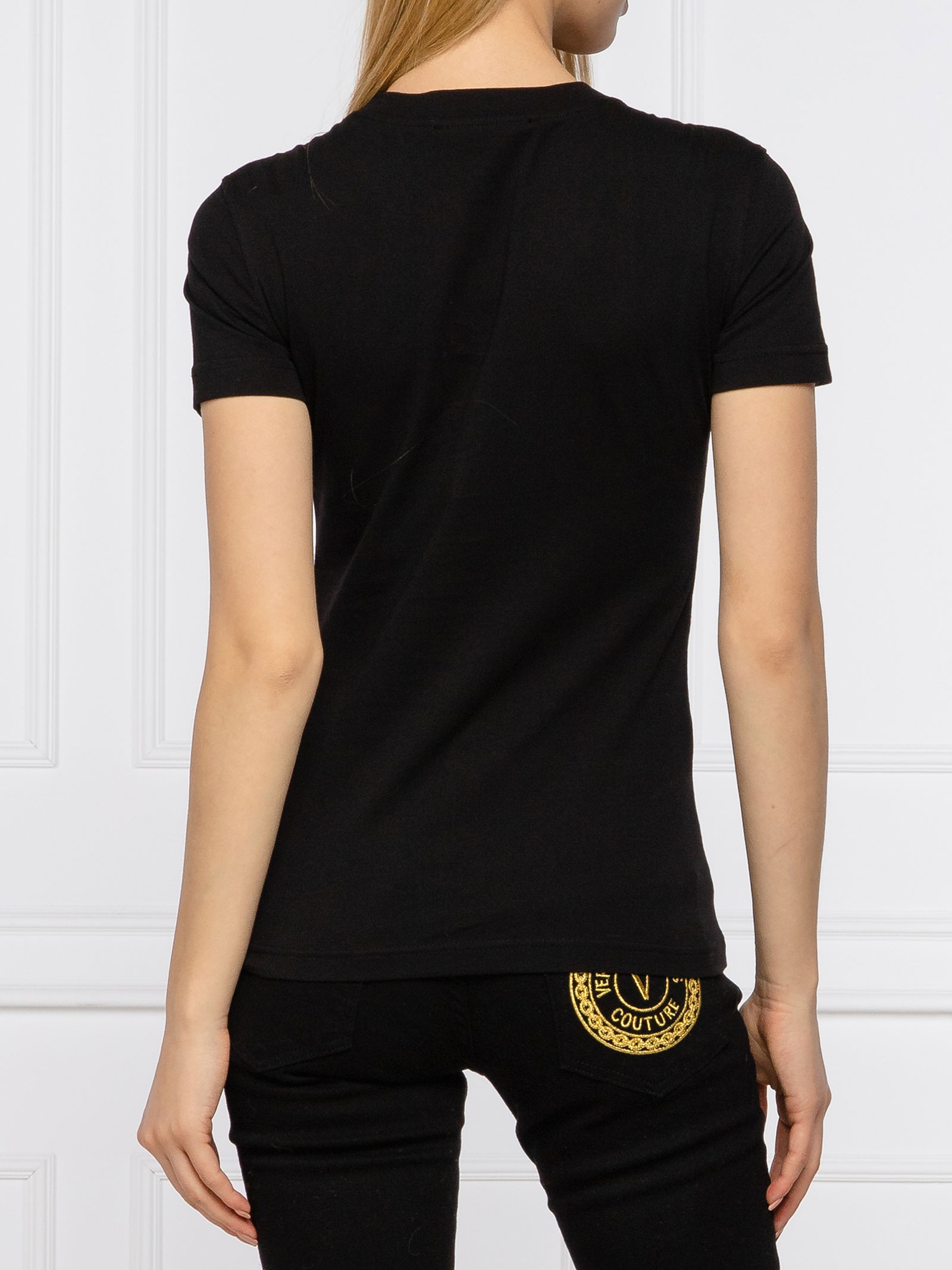 t-shirt logo versace jeans couture VERSACE JEANS | T-shirt | B2HWA7TBK42