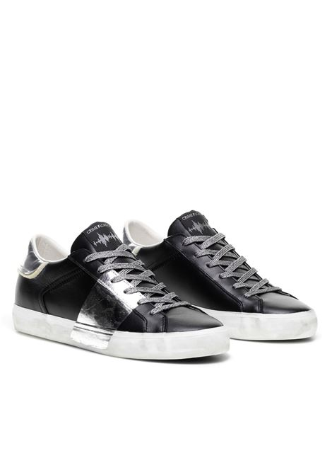 sneaker metallic silver CRIME LONDON | Sneakers | 25006AA320