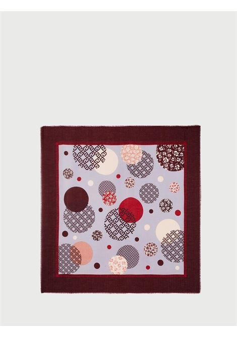 foulard logo pois LIU JO | Foulards | 3F0024T030091725