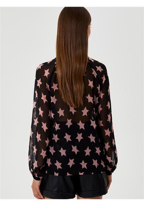CAMICIA STAR IN CREPE LIU JO | Camicia | WF0192T0110T9124