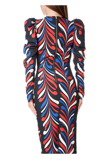 abito longuette dressy multicolor MARCO BOLOGNA | Abiti | MWA20411VEBLACK