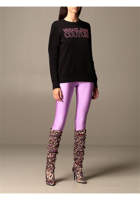 felpa logo fluo versace jeans couture VERSACE JEANS | Felpa | B6 HZA7KP 30328899
