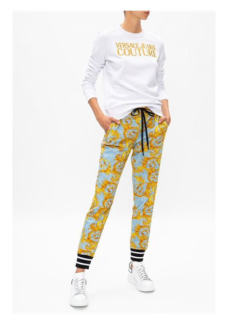 felpa logo ricamo versace jeans couture VERSACE JEANS | Felpa | B6 HZA7TZ 30318K41