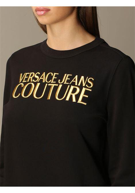 felpa logo ricamo versace jeans couture VERSACE JEANS | Felpa | B6 HZA7TZ 30318K42