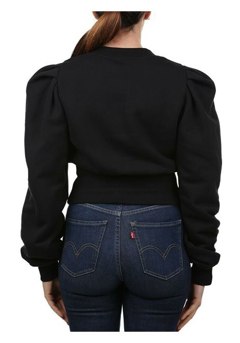 felpa logo black gold versace jeans couture VERSACE JEANS   Felpe   B6 HZB791 13998899