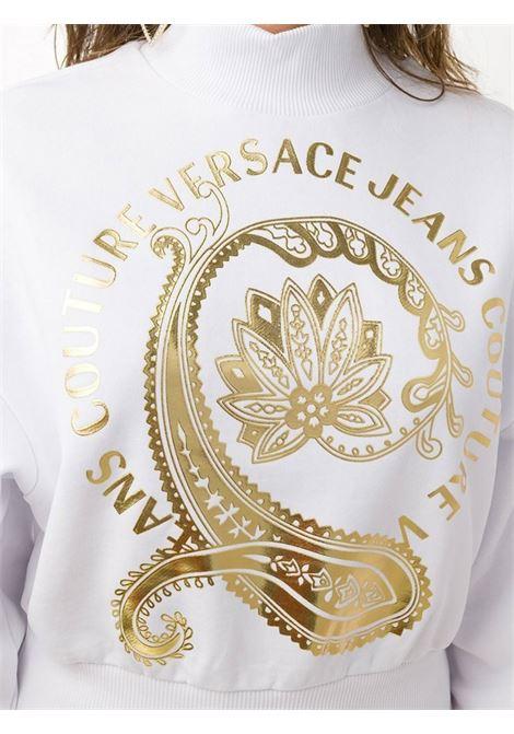 felpa flowers versace jeans couture VERSACE JEANS | Felpe | B6HZA7EC30310K41