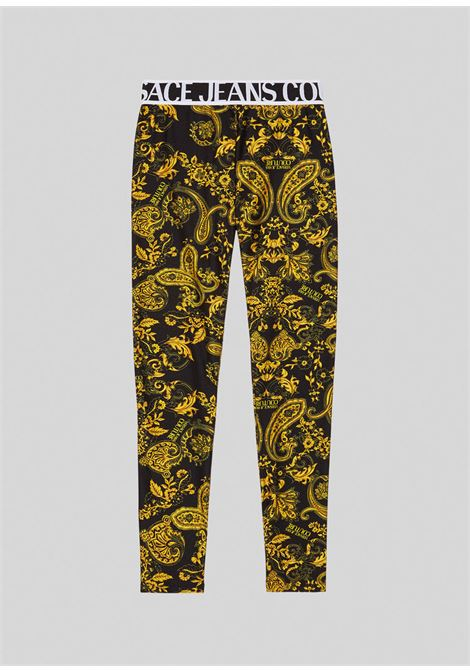 LEGGINGS LYCRA VERSACE JEANS | Leggings | D5 HZA161 S0839899