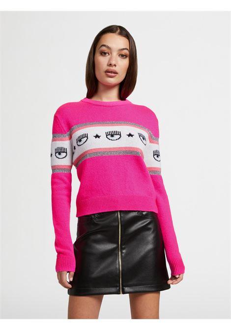 Pulloveri maxi logomania CF CHIARA FERRAGNI | knitwear | 71CBFM23437