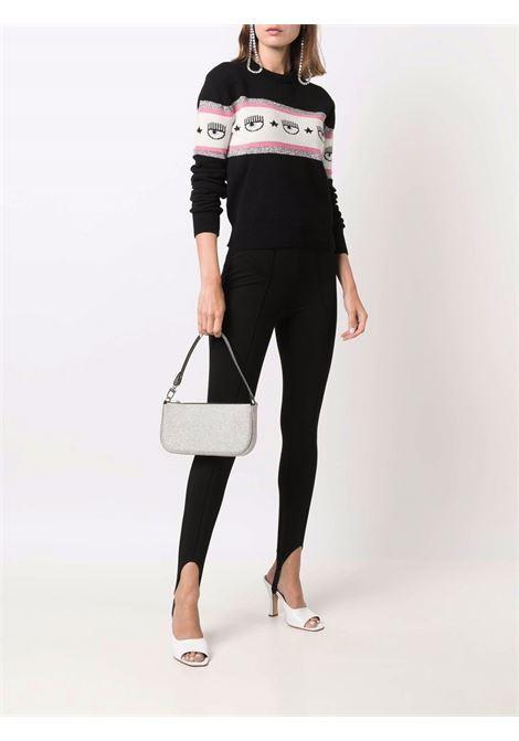 Pullover maxi logomania CF CHIARA FERRAGNI | knitwear | 71CBFM23899