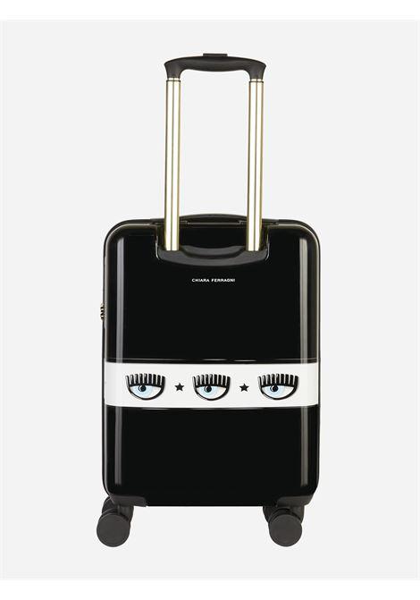 trolley logomania cf CHIARA FERRAGNI | Valigie | 71SB0LA1ZS143899