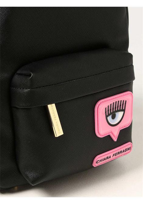 Backpacki Eyelike patch cf CHIARA FERRAGNI | Backpacks | 71SB4BC3ZS135899