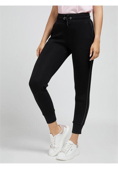 GUESS | Trousers | W1YB49KAMN2JBLK