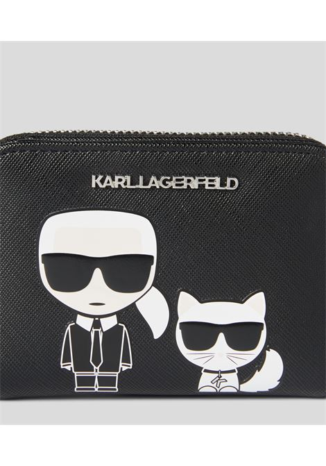 Portafogli k/ikonic folded KARL LAGERFELD | Portafogli | 201W320241999