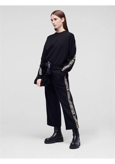 Pantaloni banda Karl KARL LAGERFELD | Pantaloni | 211W106241992