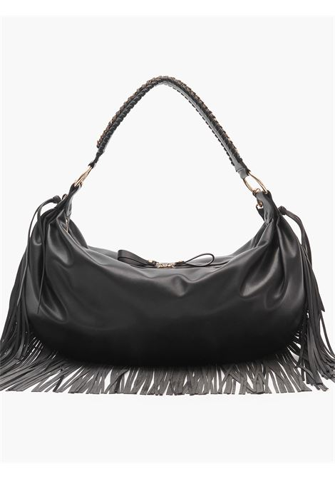 Bag Crossplay with fringes  LA CARRIE | Bags | 112MTS852BLACK