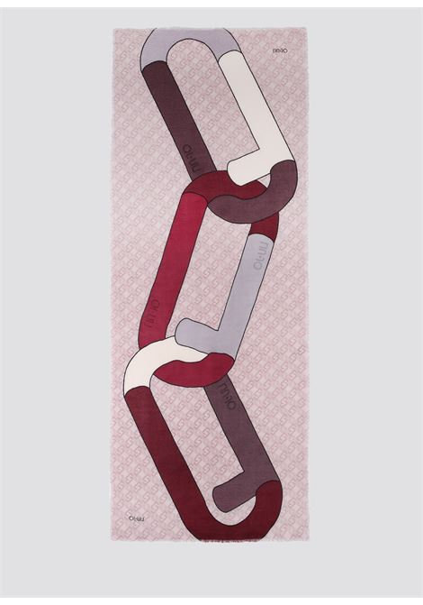 stola macrologo chain LIU JO | Stole | 2F1043T0300X1057