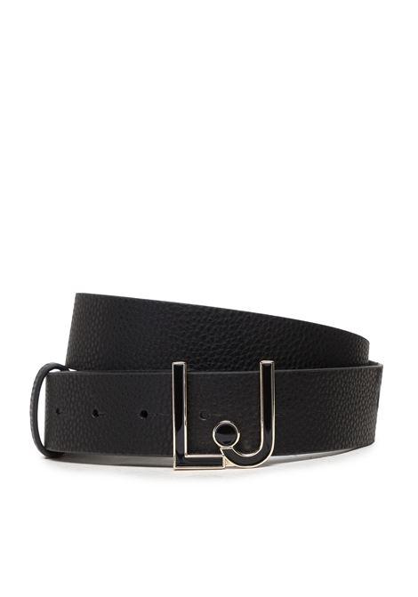Cintura logo LIU JO | Cinture | AF1222E008622222