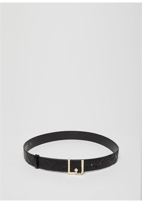 Cintura logomania LJ LIU JO | Cinture | AF1223E053822222