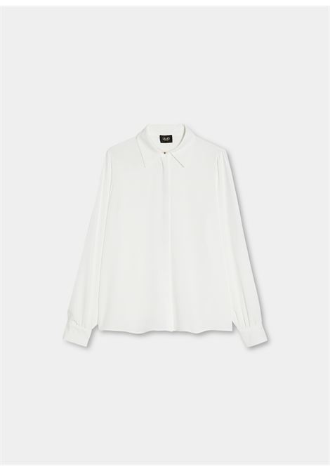 camicia plissè LIU JO | Camicie | CF1096T2353X0256