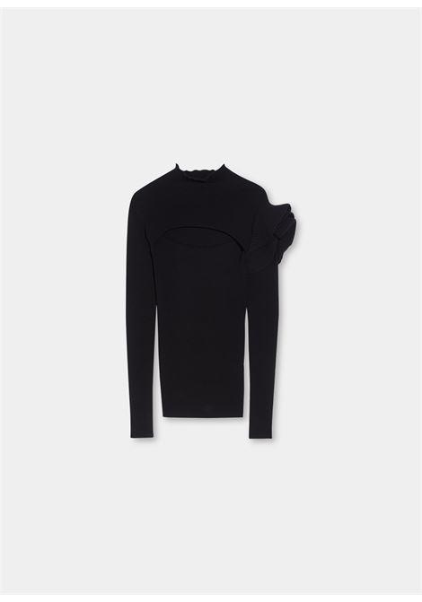 Turtleneck volants  LIU JO | knitwear | CF1164MA99E22222