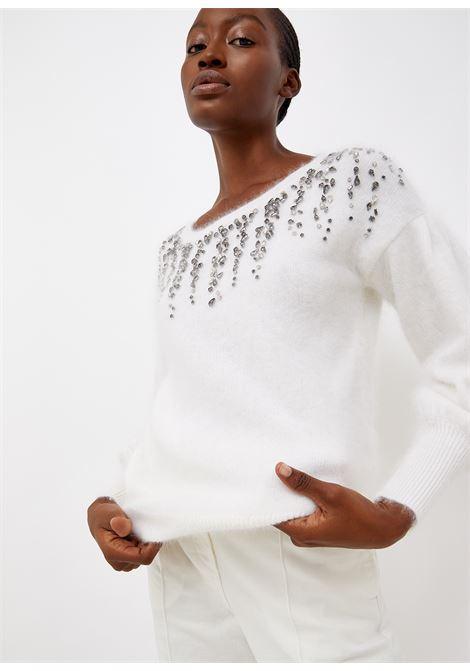 maglia round collar LIU JO | Maglie | CF1170MA97LS9445