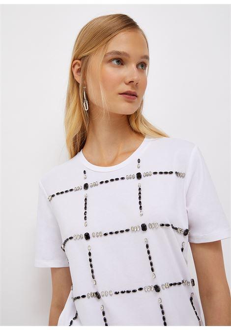 T-shirt gioiello LIU JO | T-shirt | CF1196J500311111