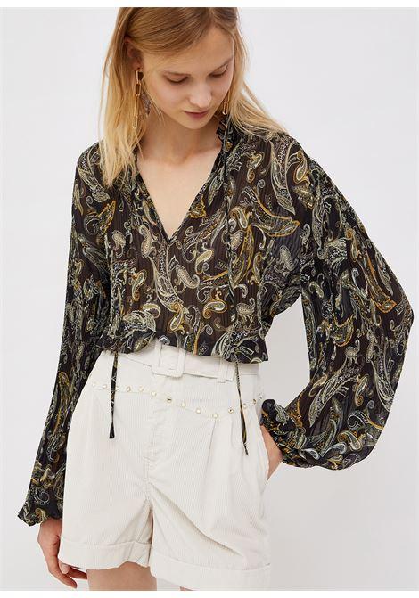 Forest pleated shirt  LIU JO | Shirts | WF1003T5975T9977